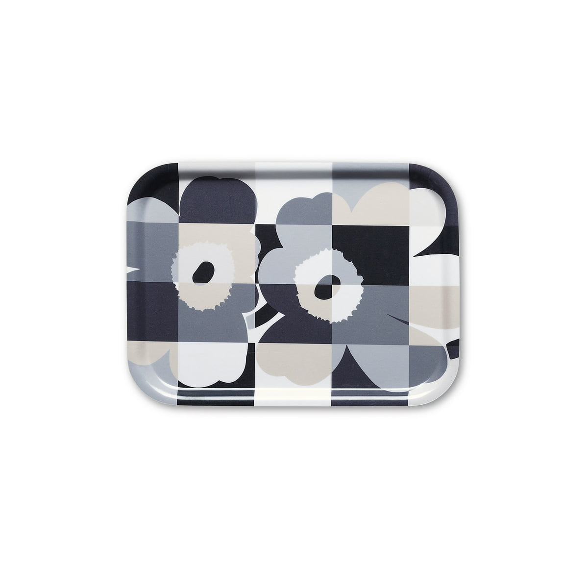 ruutu unikko tablett von marimekko im shop. Black Bedroom Furniture Sets. Home Design Ideas