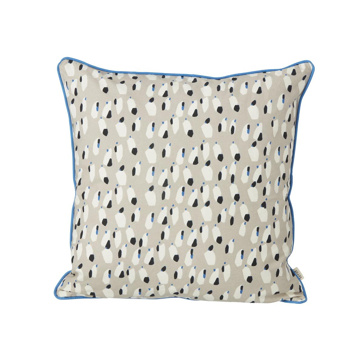spotted kissen von ferm living im shop. Black Bedroom Furniture Sets. Home Design Ideas