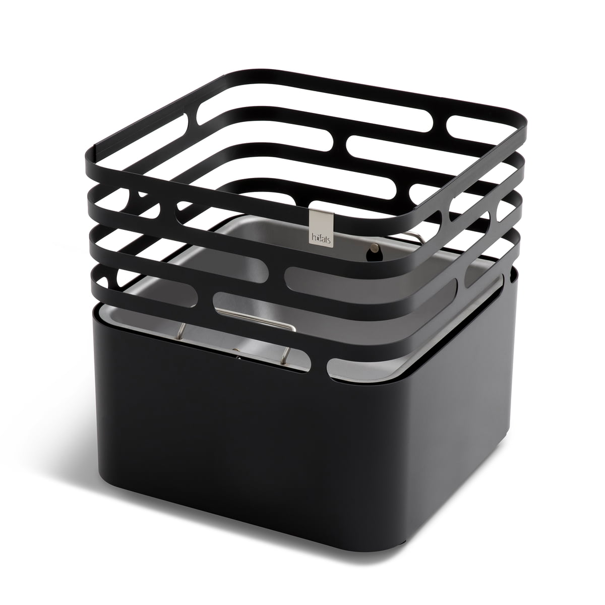 cube feuerkorb von h fats im shop kaufen. Black Bedroom Furniture Sets. Home Design Ideas