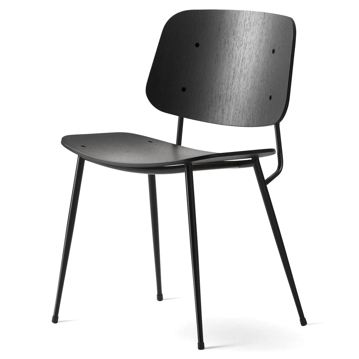 s borg stuhl model 3060 von fredericia. Black Bedroom Furniture Sets. Home Design Ideas