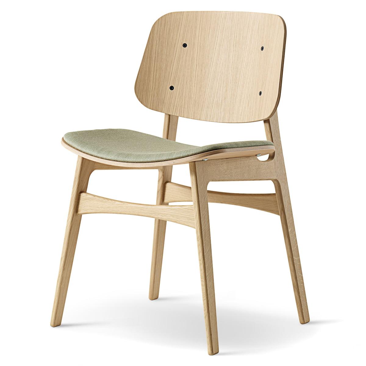 Bemerkenswert Stuhl Gepolstert Referenz Von Søborg Von Fredericia Aus Eiche
