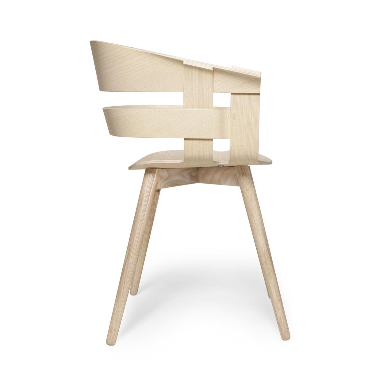 Design House Stockholm Wick Chair Wood Eiche Natur