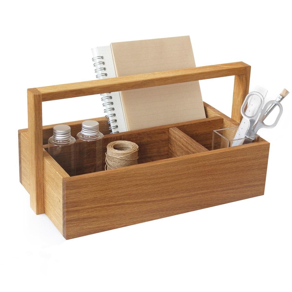 holz toolbox von side by side online kaufen. Black Bedroom Furniture Sets. Home Design Ideas