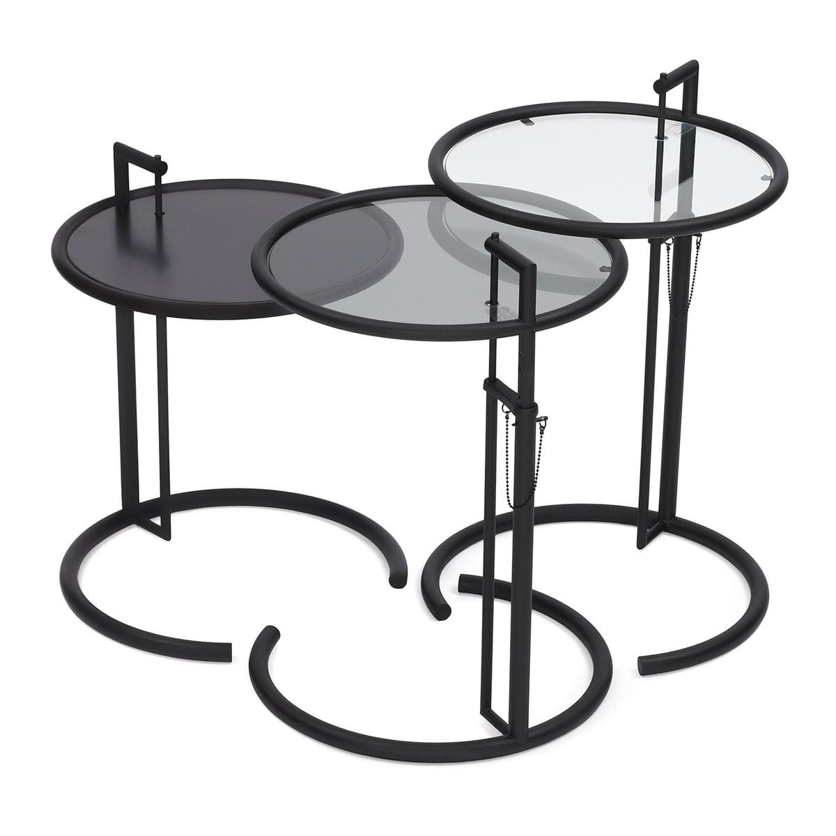 classicon adjustable table e 1027 black version