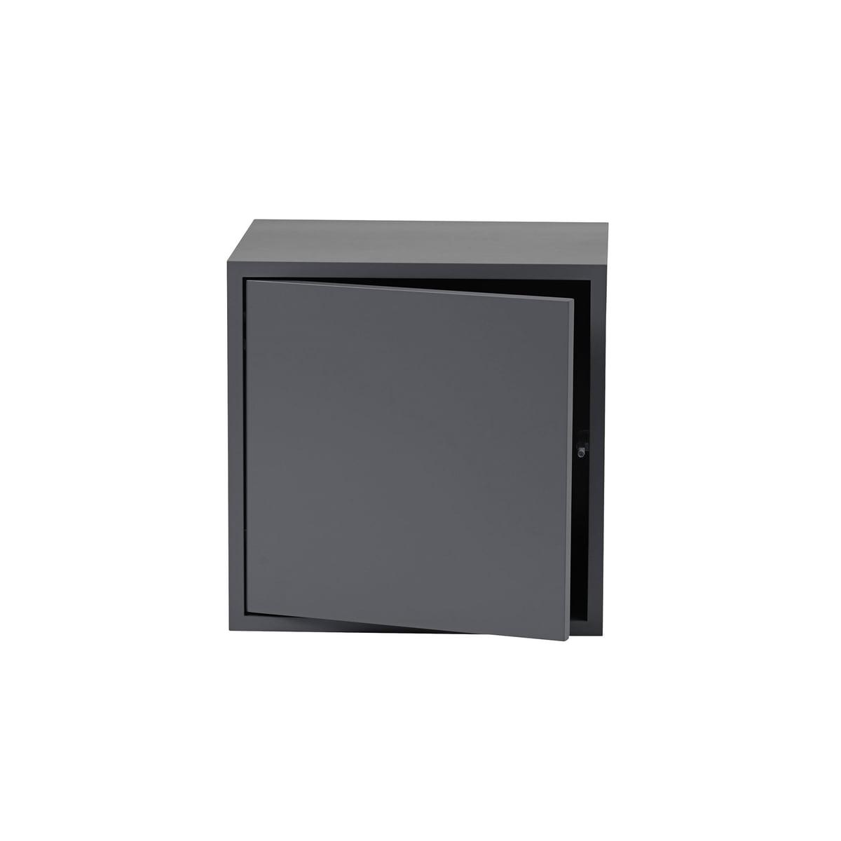 stacked regalmodul mit t r von muuto im shop. Black Bedroom Furniture Sets. Home Design Ideas