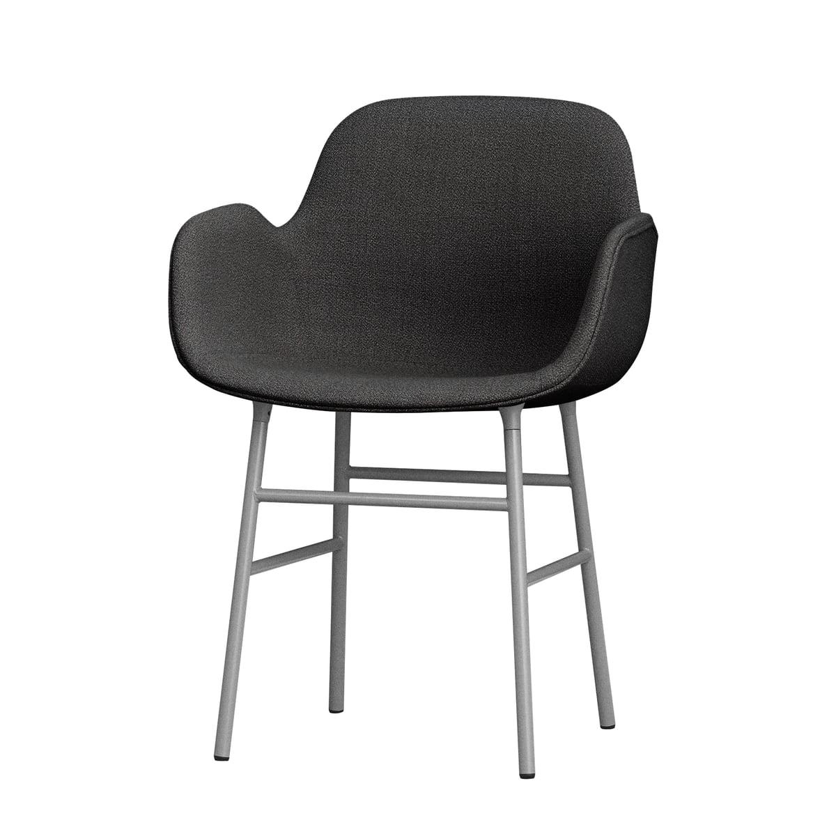 Liebenswert Schalenstuhl Gepolstert Sammlung Von Form Armchair Steel Legs (gepolstert) Von Normann
