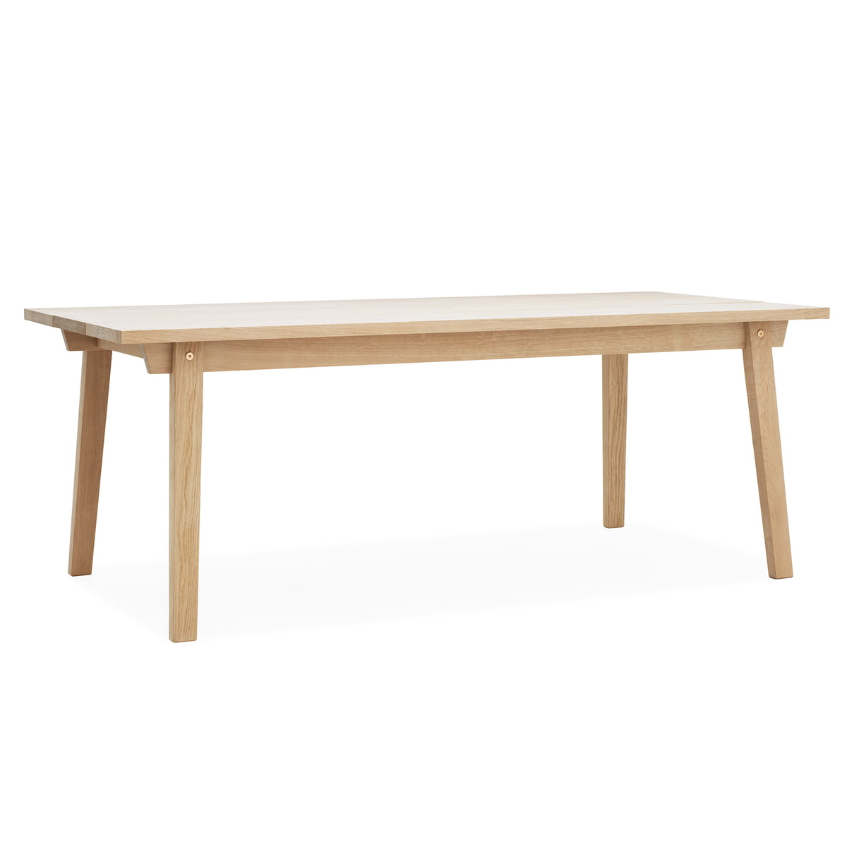 Slice table wood normann copenhagen for Barhocker normann copenhagen