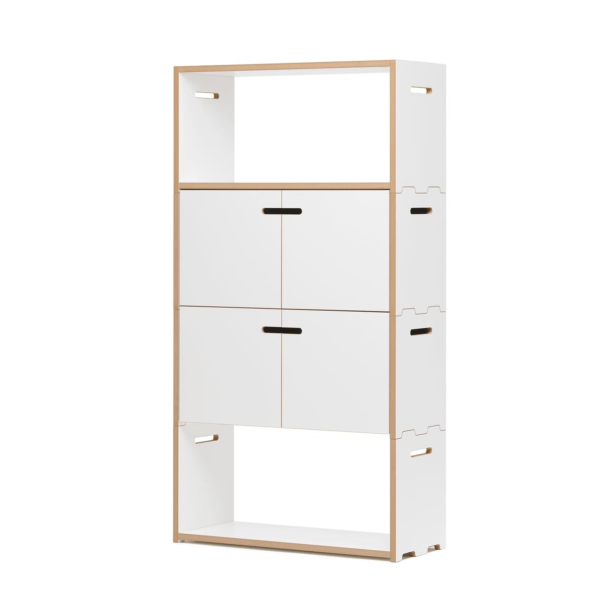 hochstapler regalsystem von tojo im shop. Black Bedroom Furniture Sets. Home Design Ideas