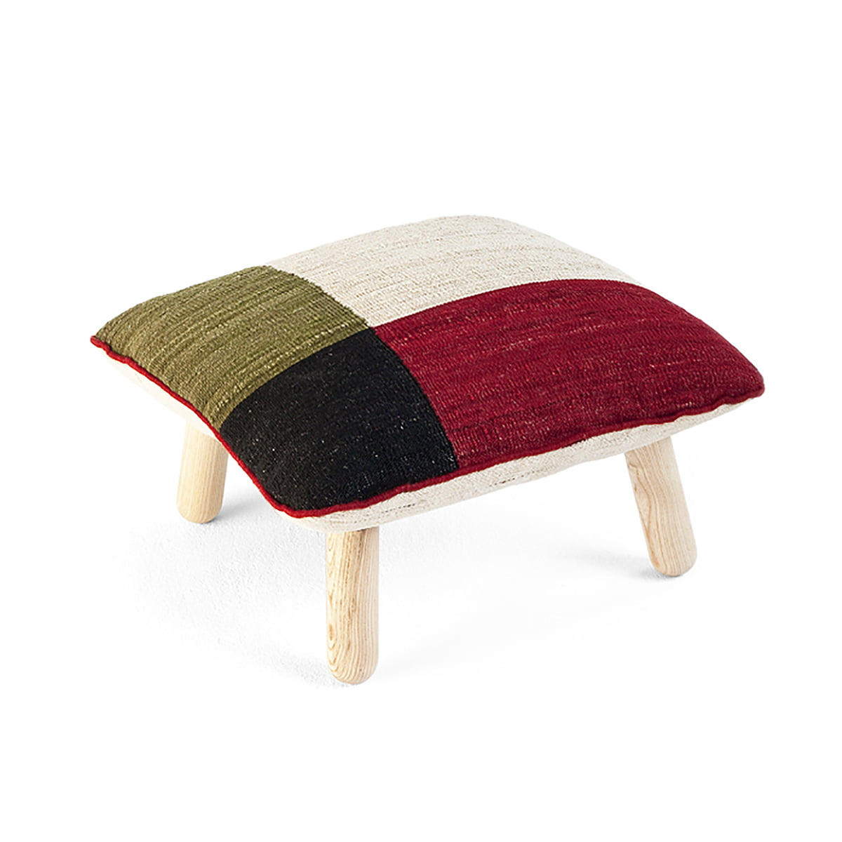 m lange pouf von nanimarquina im shop kaufen. Black Bedroom Furniture Sets. Home Design Ideas