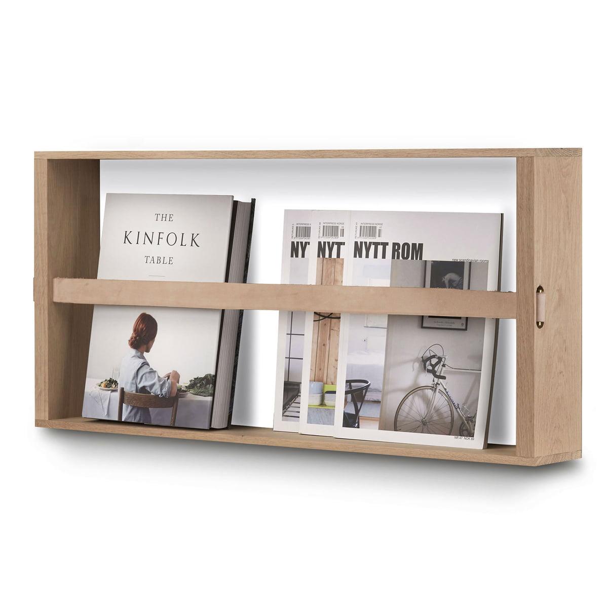 norr magazinhalter von skagerak connox. Black Bedroom Furniture Sets. Home Design Ideas