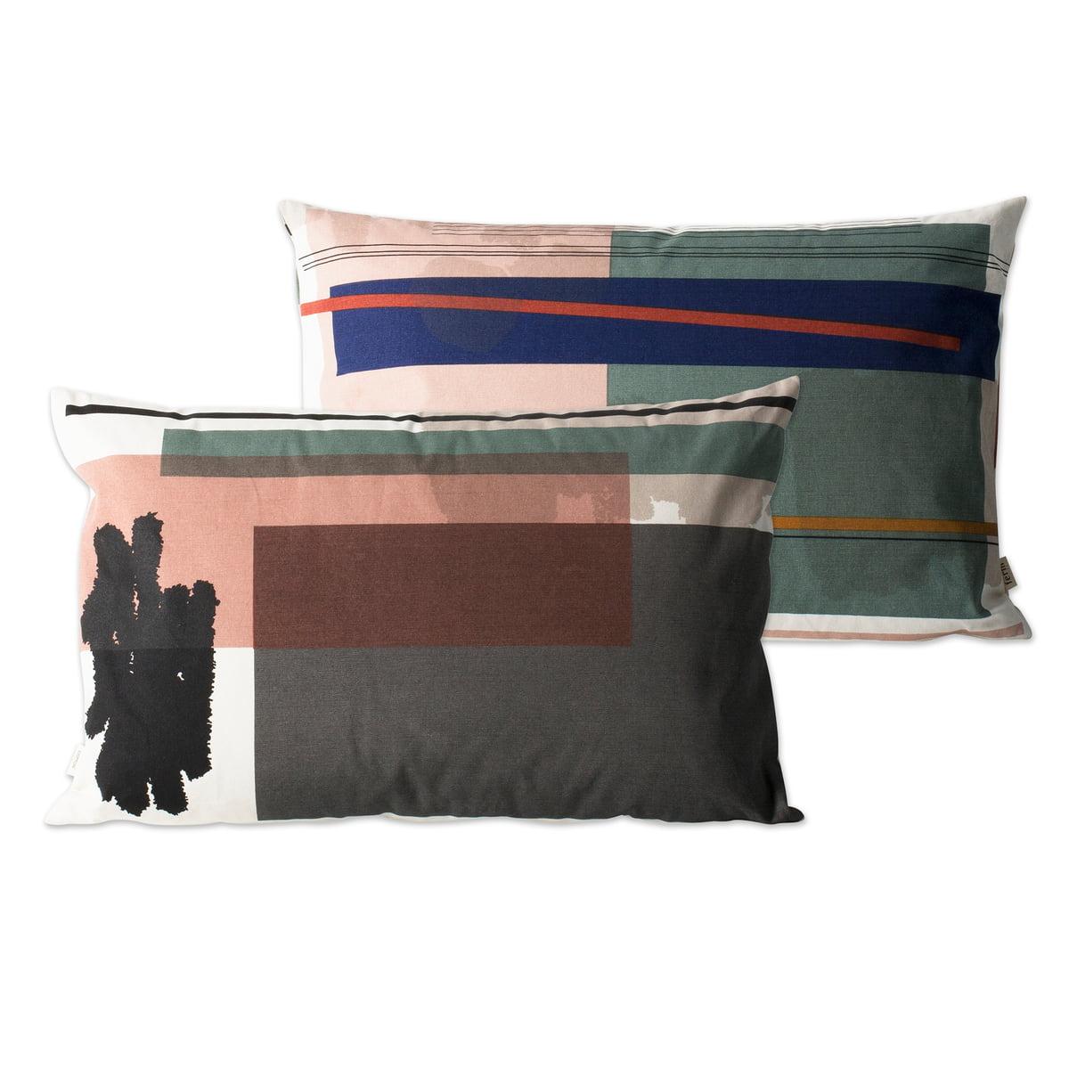 colour block kissen large von ferm living. Black Bedroom Furniture Sets. Home Design Ideas