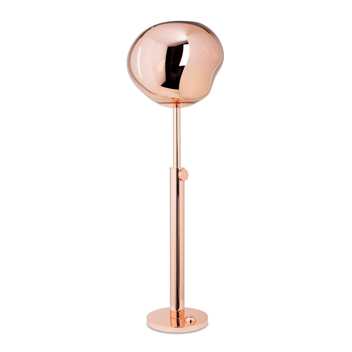 Inspirierend Stehlampe Kupfer Dekoration Von Die Tom Dixon - Melt Stehleuchte In