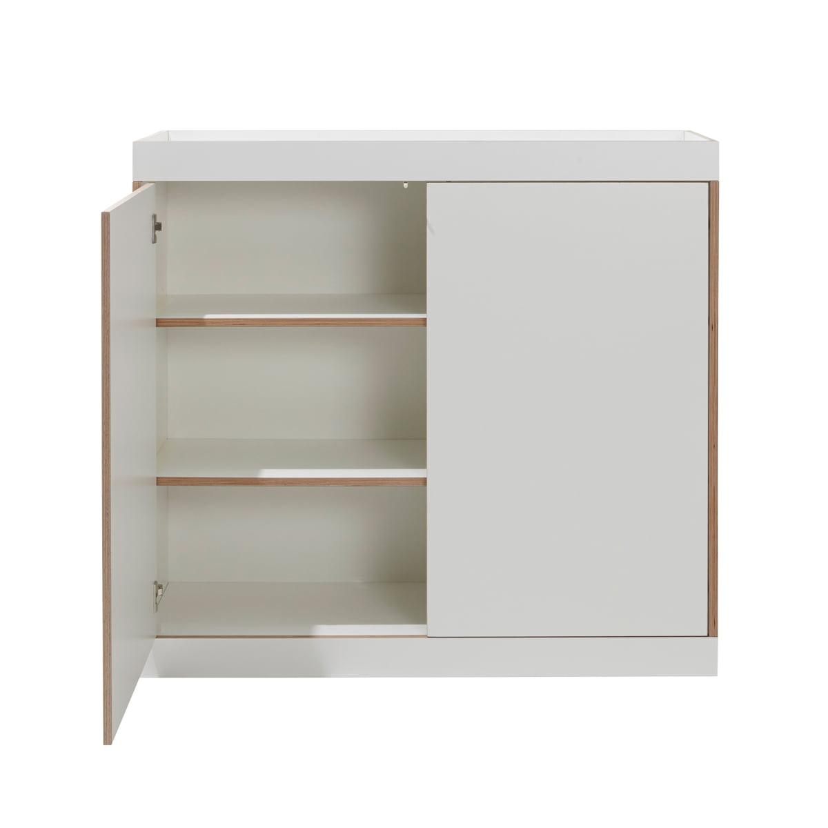 Müller Möbelwerkstätten - Flai Kommode mit Türen, weiß