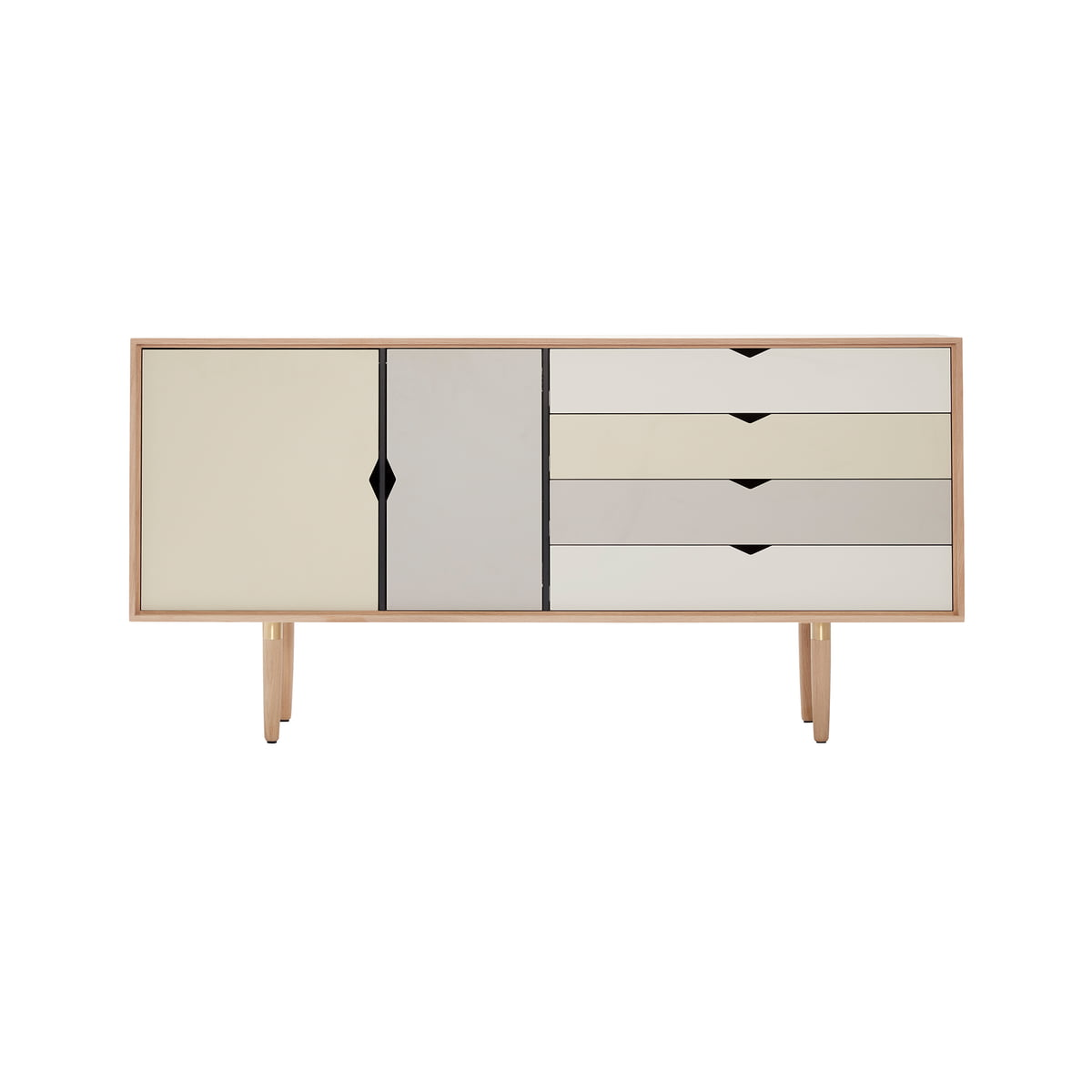 Sympathisch Sideboard Mit Füßen Foto Von S6 Von Andersen Furniture In Eiche Geseift