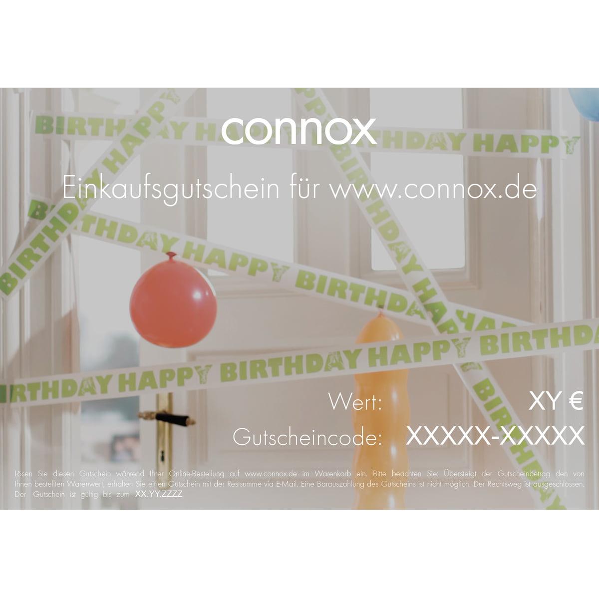 Geburtstag: Geschenkgutschein