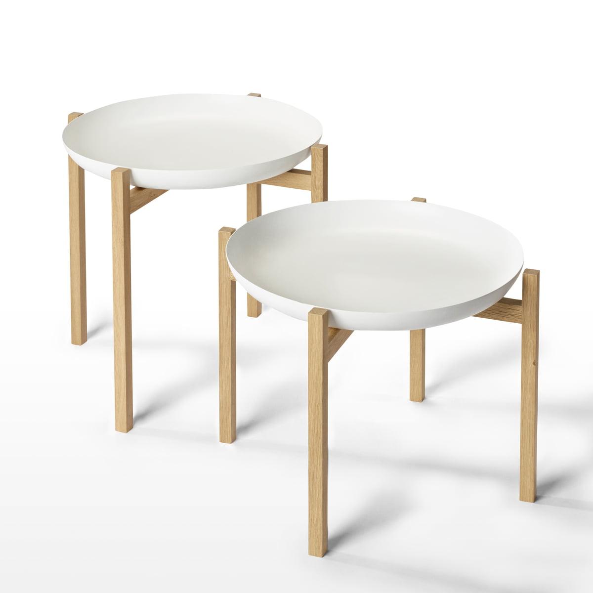 tablo beistelltisch design house stockholm. Black Bedroom Furniture Sets. Home Design Ideas