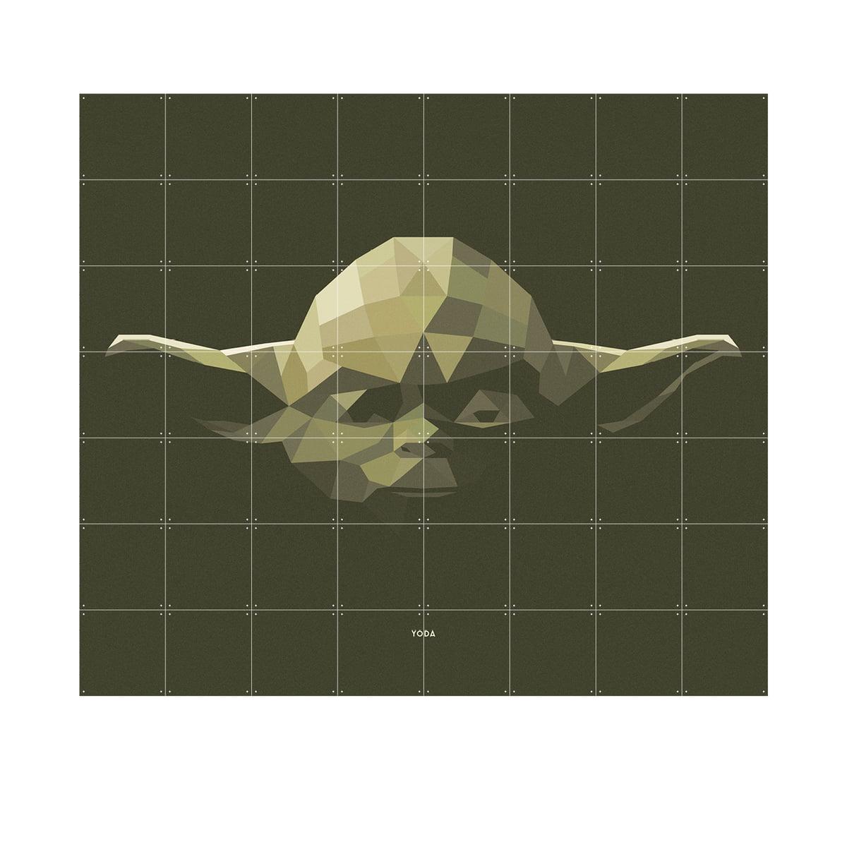Star Wars Icon: Yoda Von IXXI In 160 X 140 Cm
