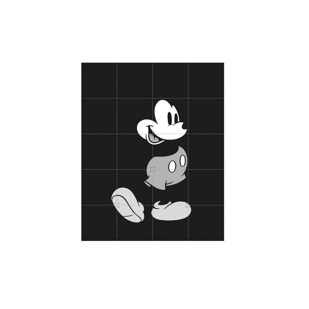 Micky Maus (Schwarz-Weiß) von IXXI   Connox