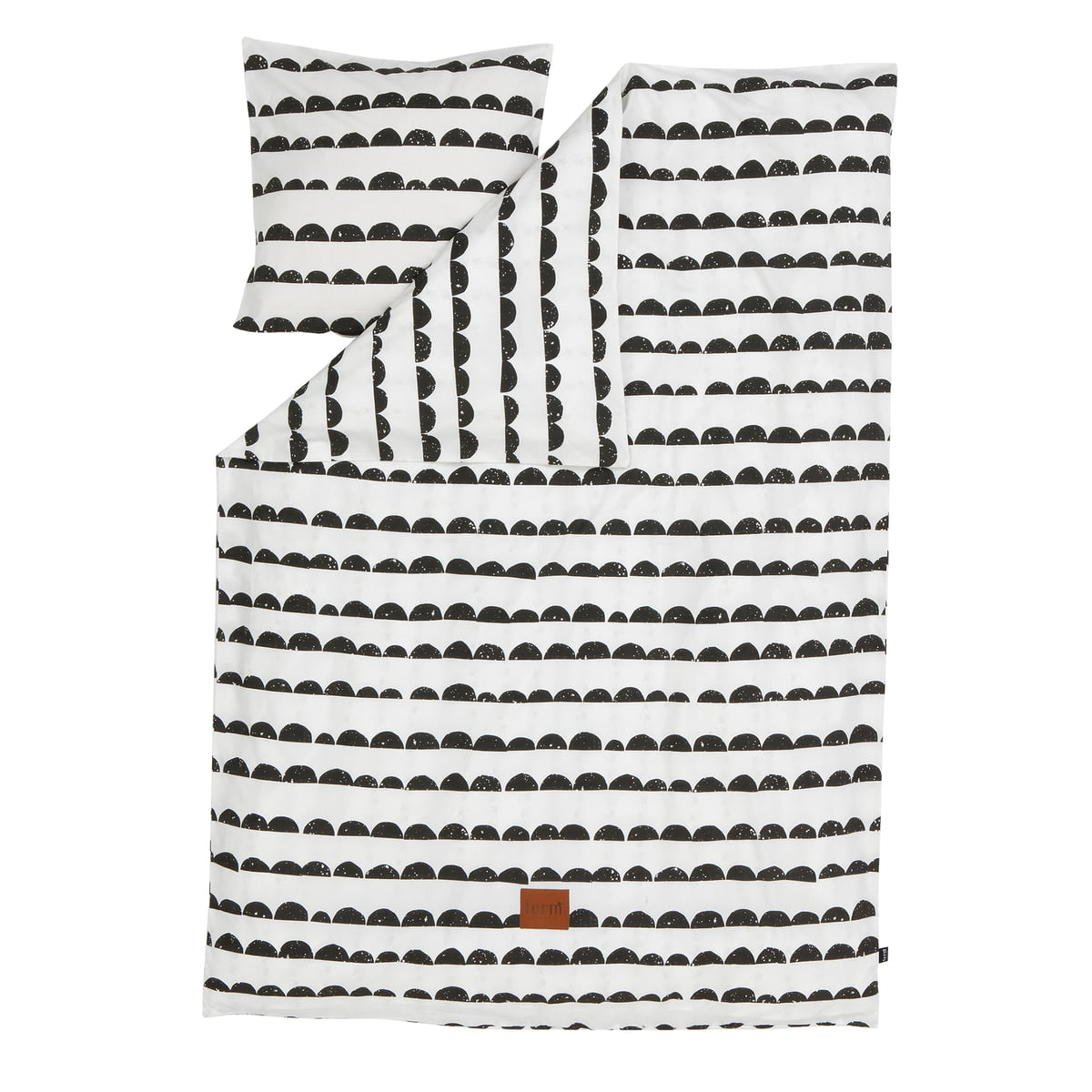 half moon bettw sche von ferm living kaufen. Black Bedroom Furniture Sets. Home Design Ideas