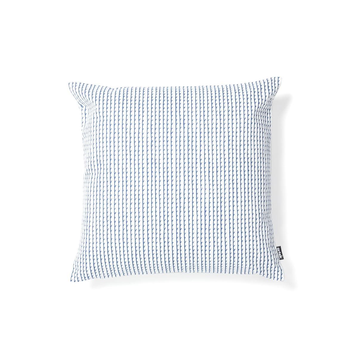 Artek Rivi Kissenbezug 40 X 40 Cm Weiß Blau