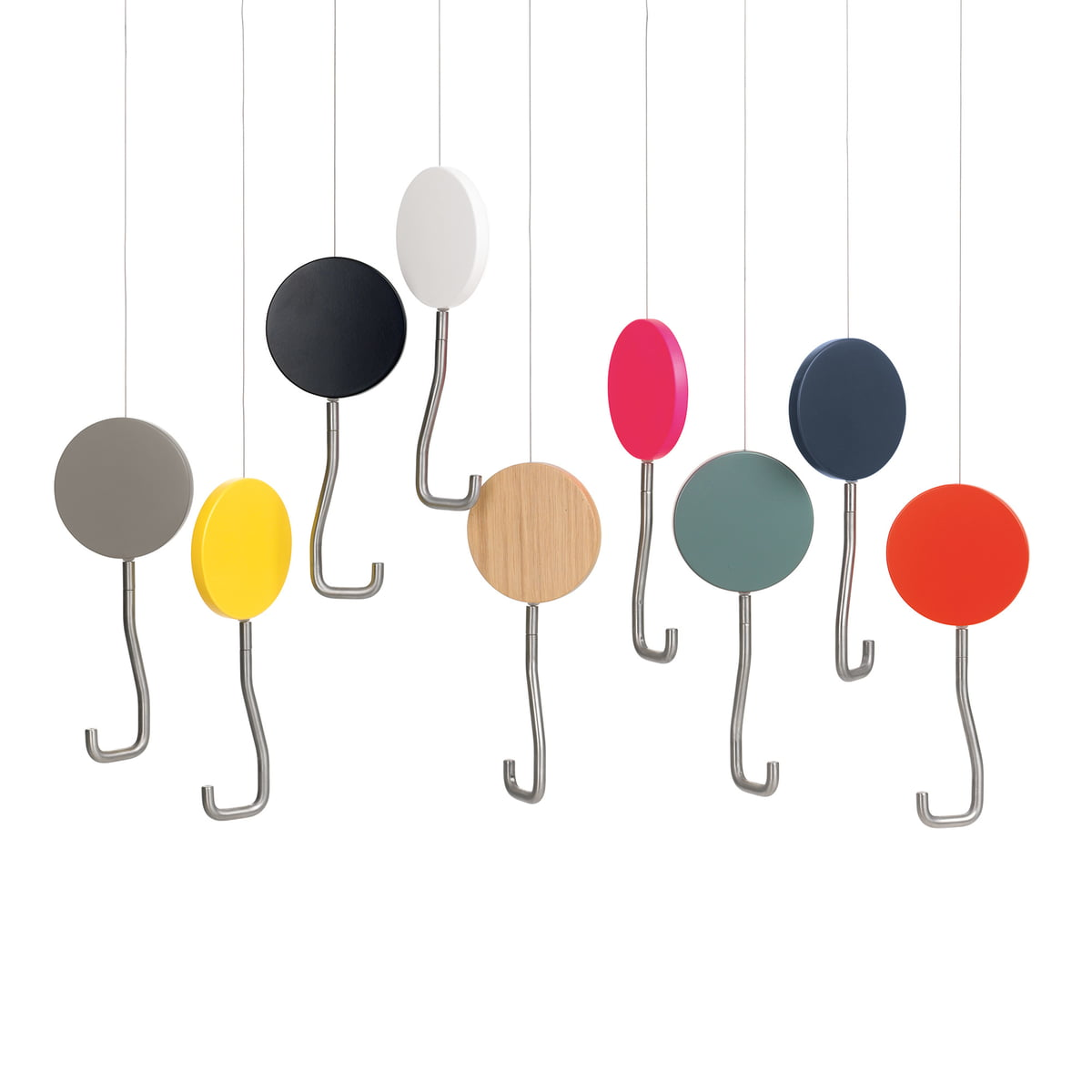 snap garderobenhaken von sch nbuch connox. Black Bedroom Furniture Sets. Home Design Ideas