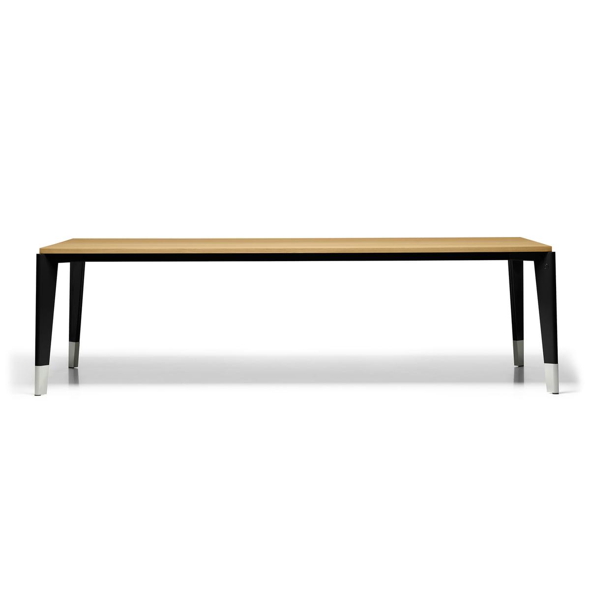 Tisch Eiche Geräuchert flavigny esstisch vitra connox shop