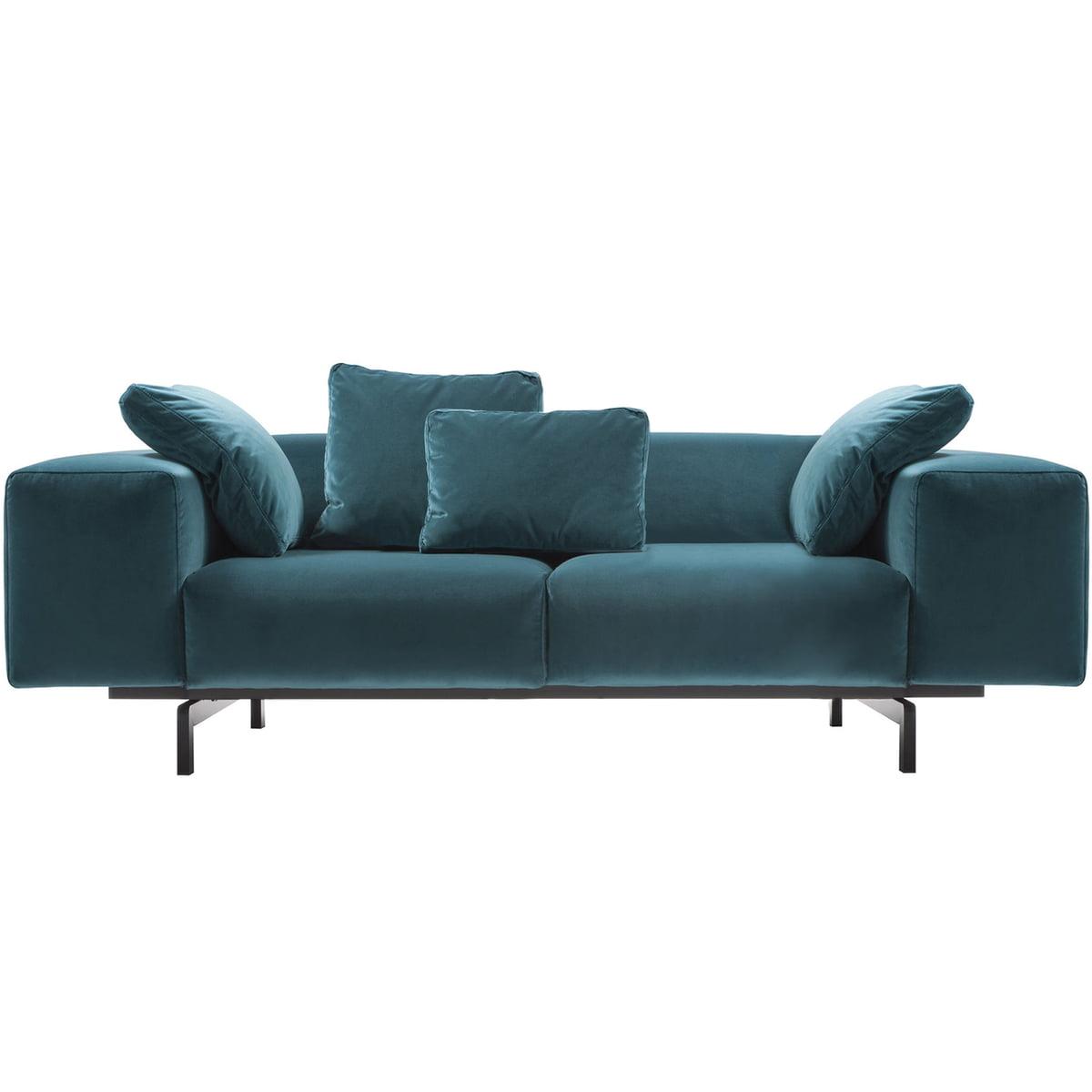 largo velluto samtsofa von kartell kaufen. Black Bedroom Furniture Sets. Home Design Ideas