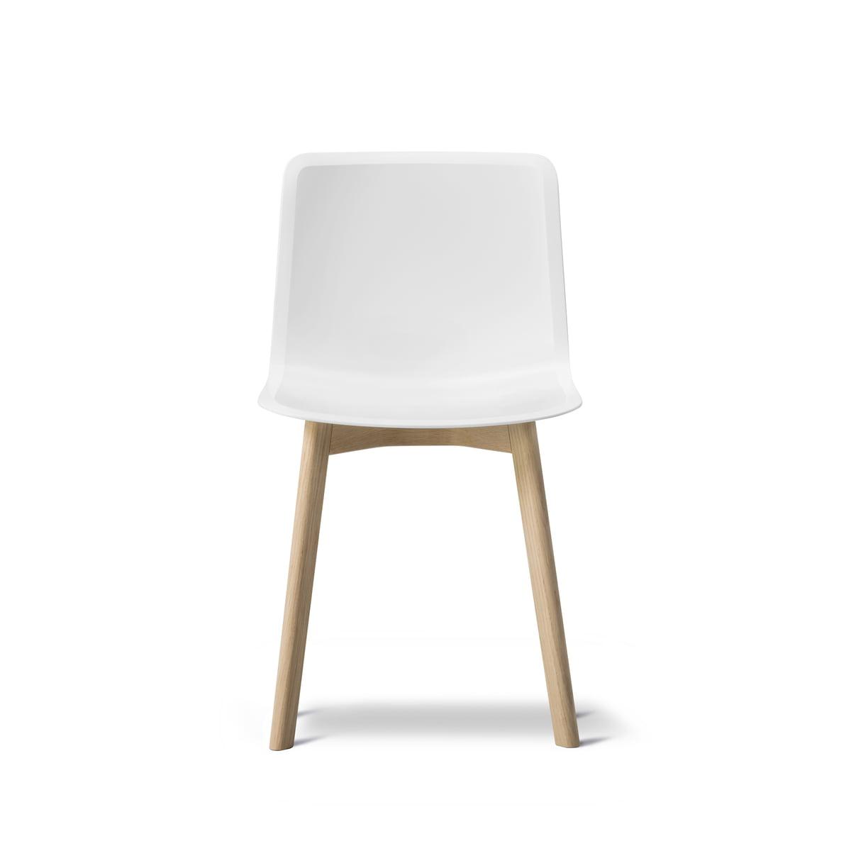 pato wood base stuhl von fredericia connox. Black Bedroom Furniture Sets. Home Design Ideas