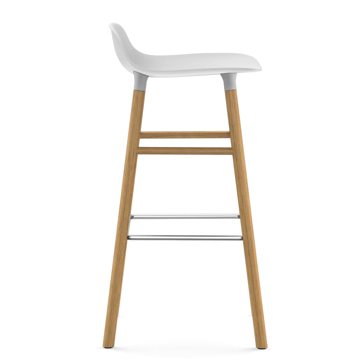 Form barhocker 75 cm holz von normann copenhagen for Barhocker normann copenhagen