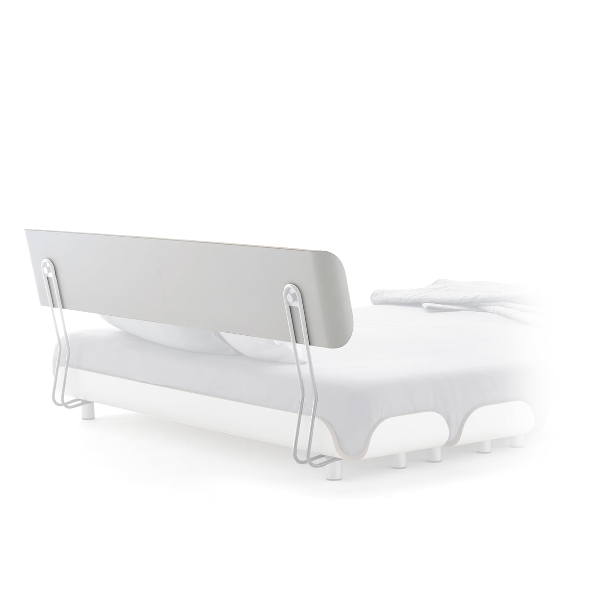 r ckenlehne f r tiefschlaf bett von stadtnomaden connox. Black Bedroom Furniture Sets. Home Design Ideas