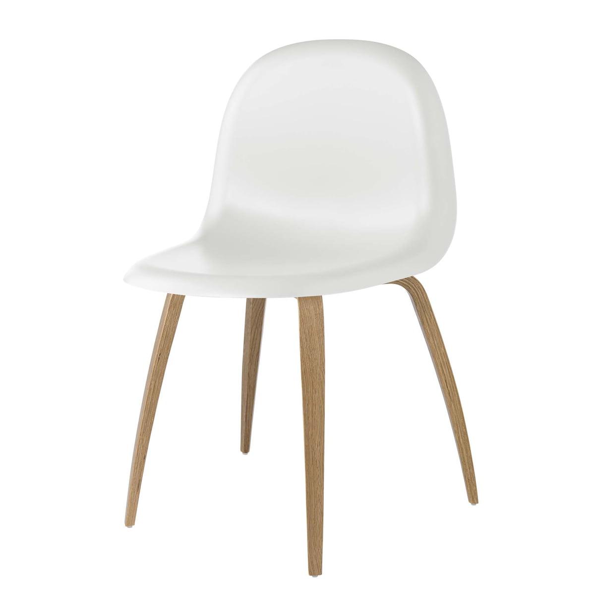 Fine Gubi 3D Dining Chair Hirek Wood Base Eiche White Cloud Ibusinesslaw Wood Chair Design Ideas Ibusinesslaworg