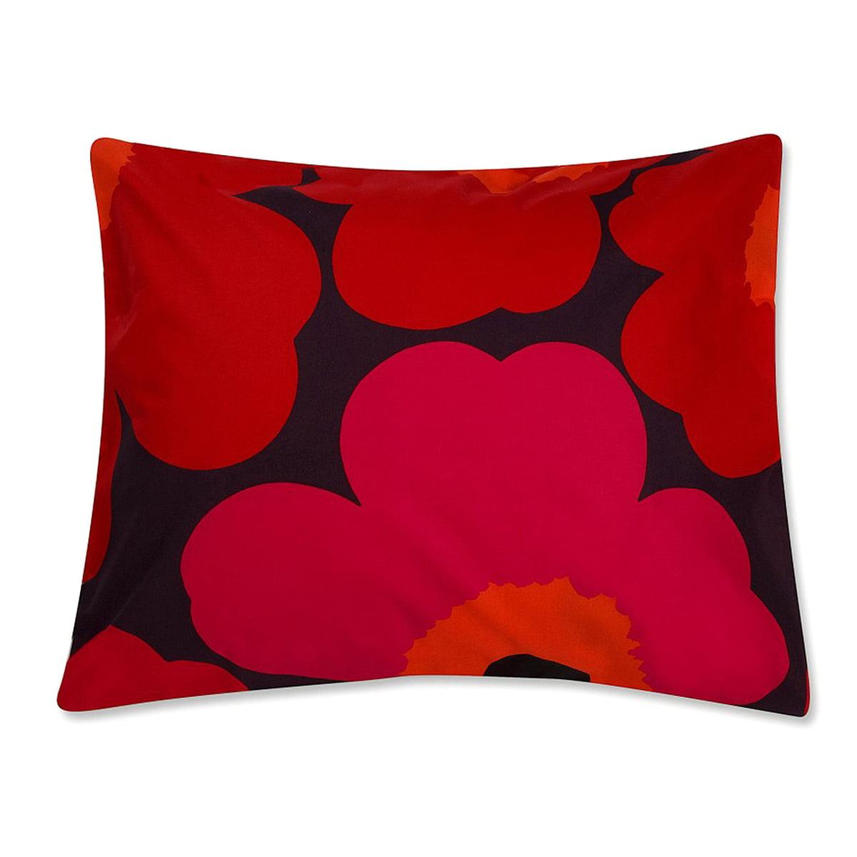 unikko kopfkissenbezug von marimekko connox. Black Bedroom Furniture Sets. Home Design Ideas