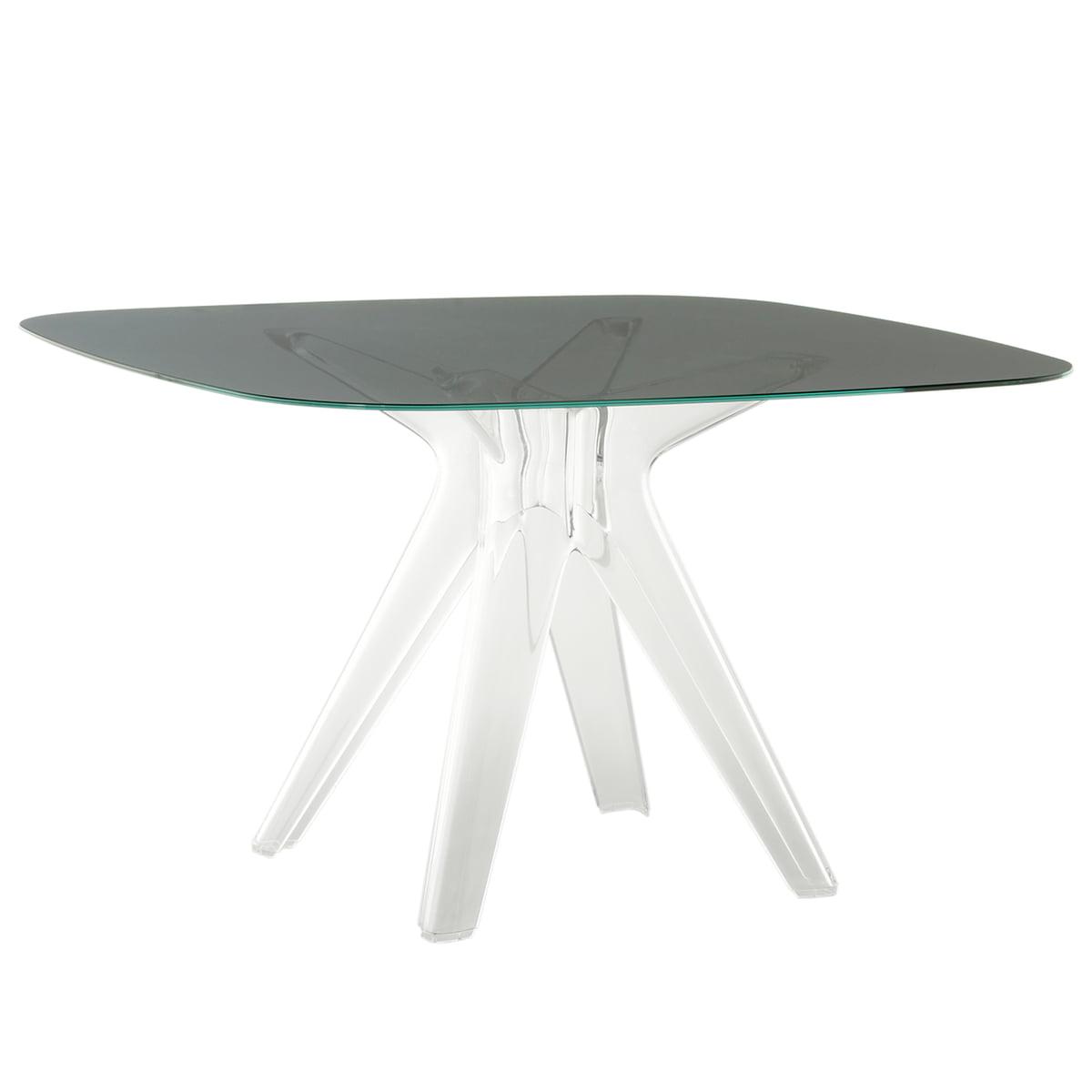 sir gio tisch quadartisch von kartell kaufen. Black Bedroom Furniture Sets. Home Design Ideas