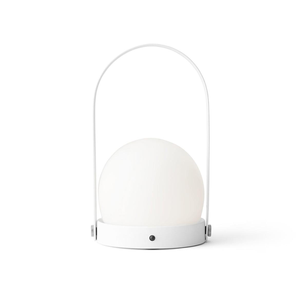 kleine zimmerrenovierung design weiss bettwasche, carrie led lampe von menu | connox, Innenarchitektur