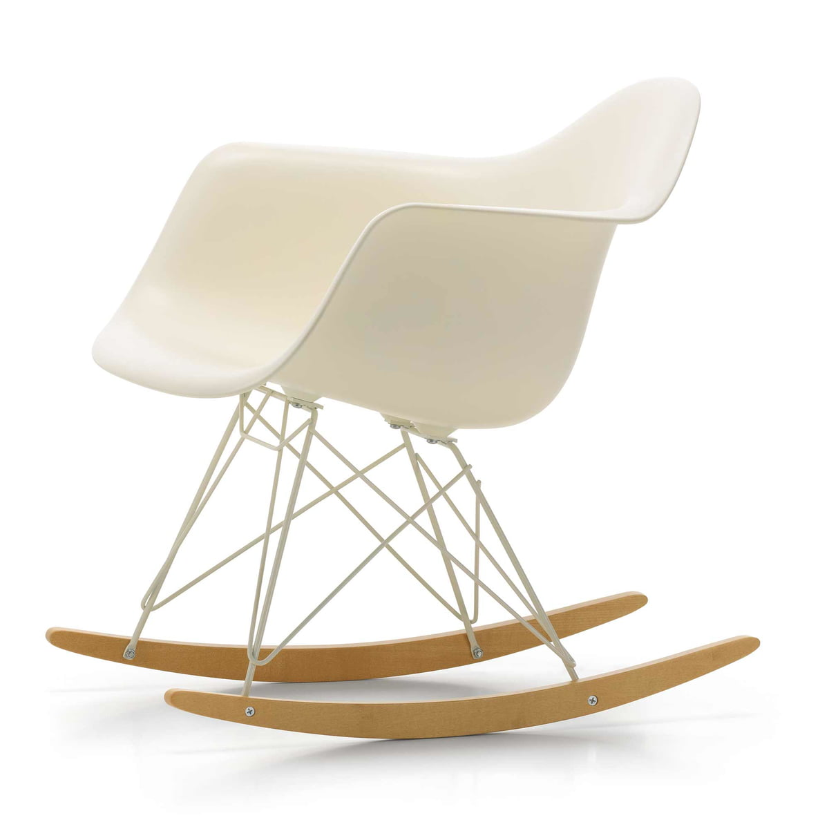 Eames rar schaukelstuhl von vitra connox shop for Vitra eames plastic armchair replica