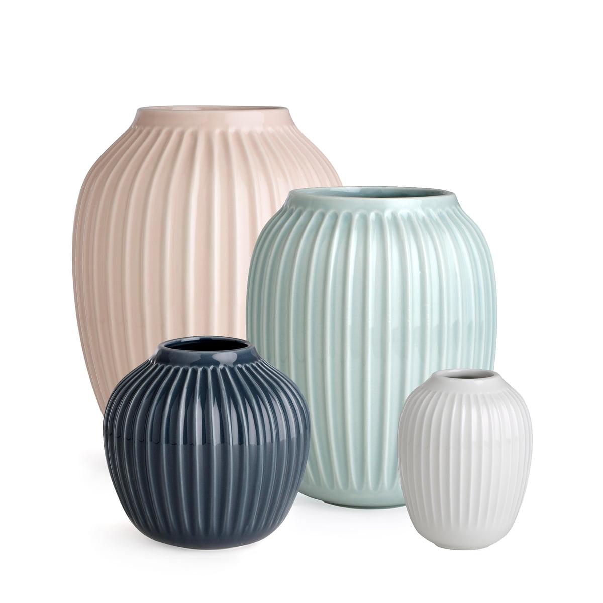 rillen vase hammersoi k hler connox. Black Bedroom Furniture Sets. Home Design Ideas