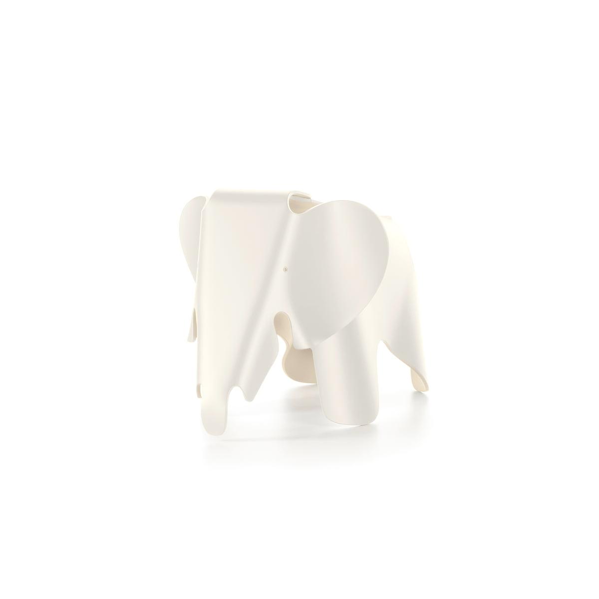 Vitra   Eames Elephant Small, Weiß