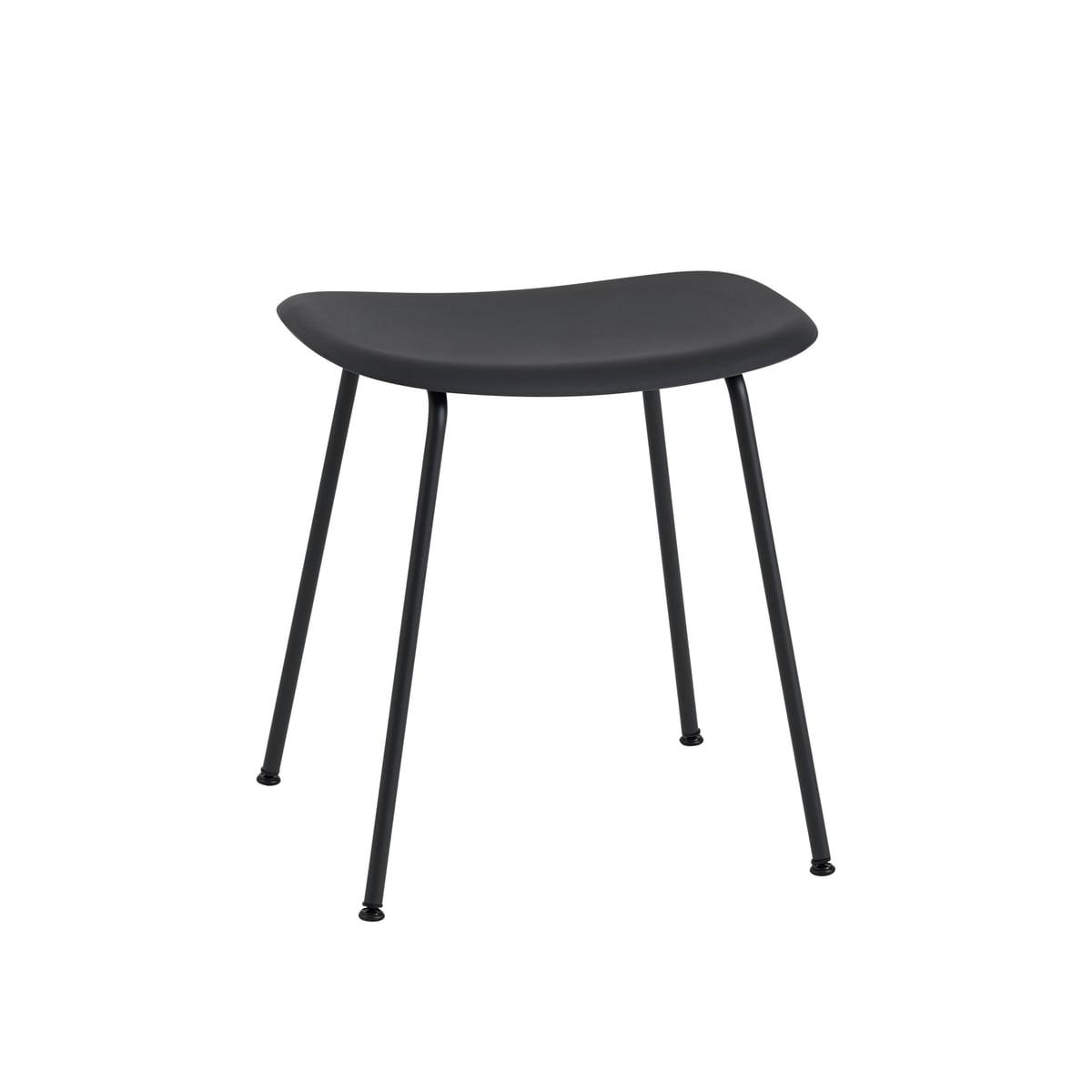 fiber hocker tube base von muuto connox. Black Bedroom Furniture Sets. Home Design Ideas