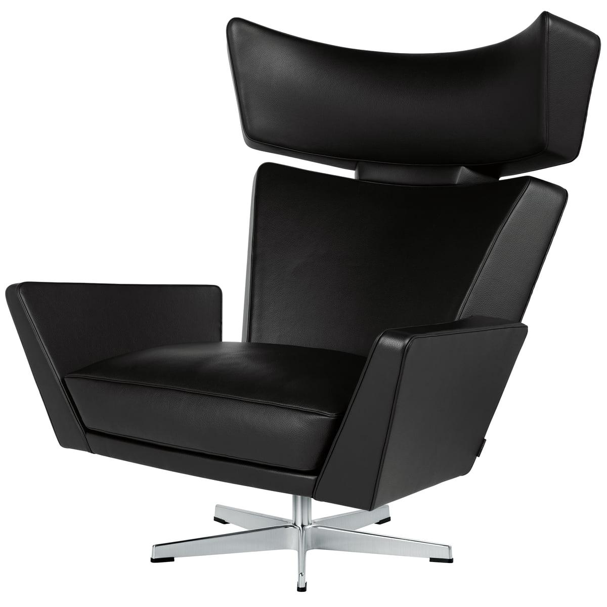 oksen leder sessel fritz hansen connox. Black Bedroom Furniture Sets. Home Design Ideas
