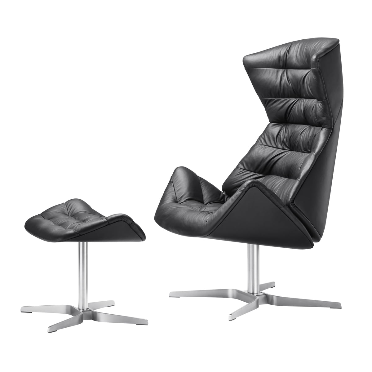 Lesesessel mit hocker perfect lounge lounge sessel lola for Ohrensessel 808