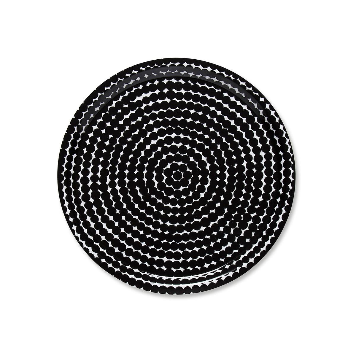 r symatto tablett rund von marimekko connox. Black Bedroom Furniture Sets. Home Design Ideas