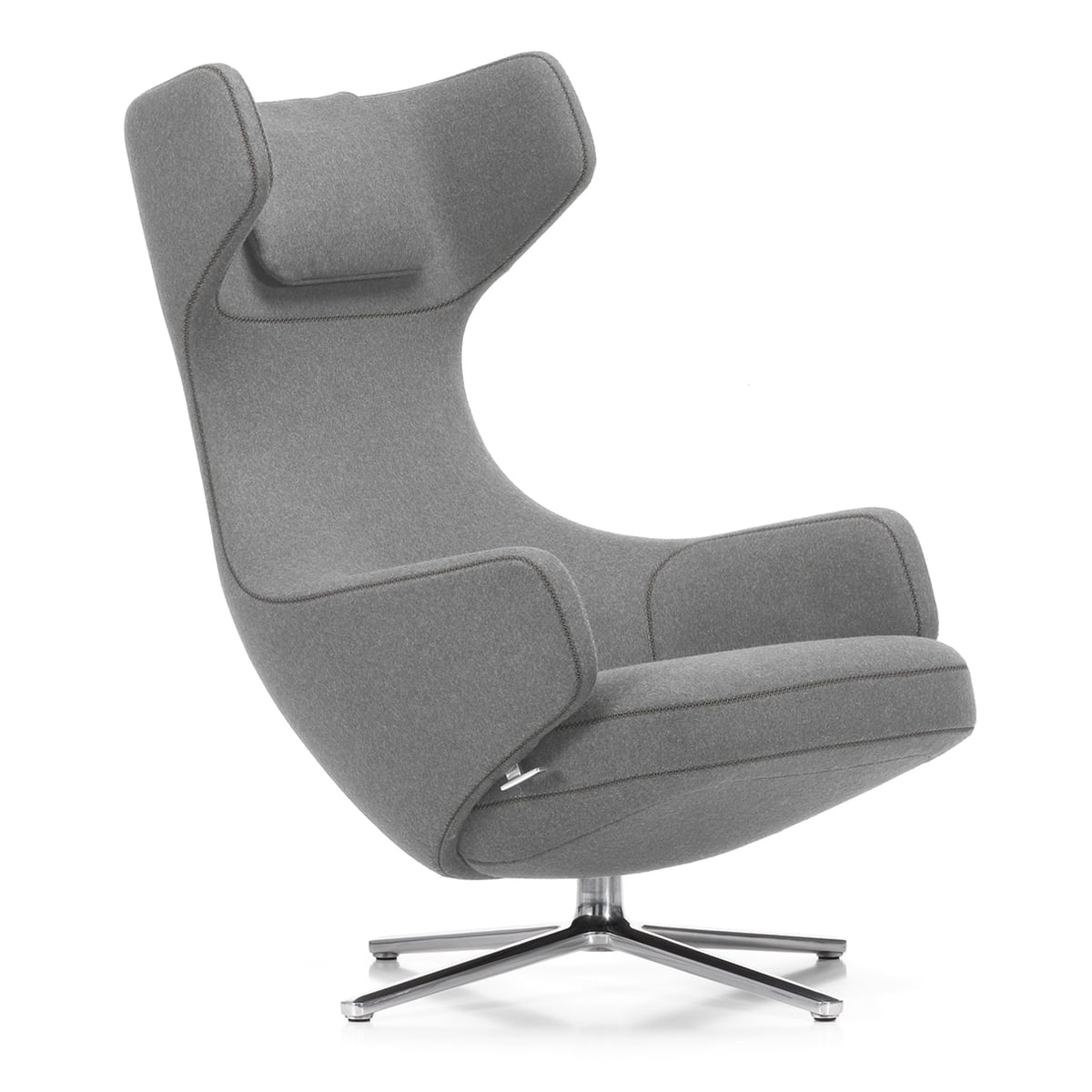 Grand repos sessel von vitra connox for Ohrensessel drehbar