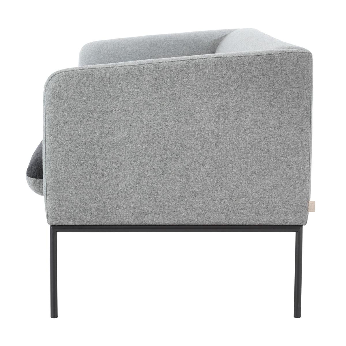 turn sofa 2 sitzer von ferm living connox. Black Bedroom Furniture Sets. Home Design Ideas
