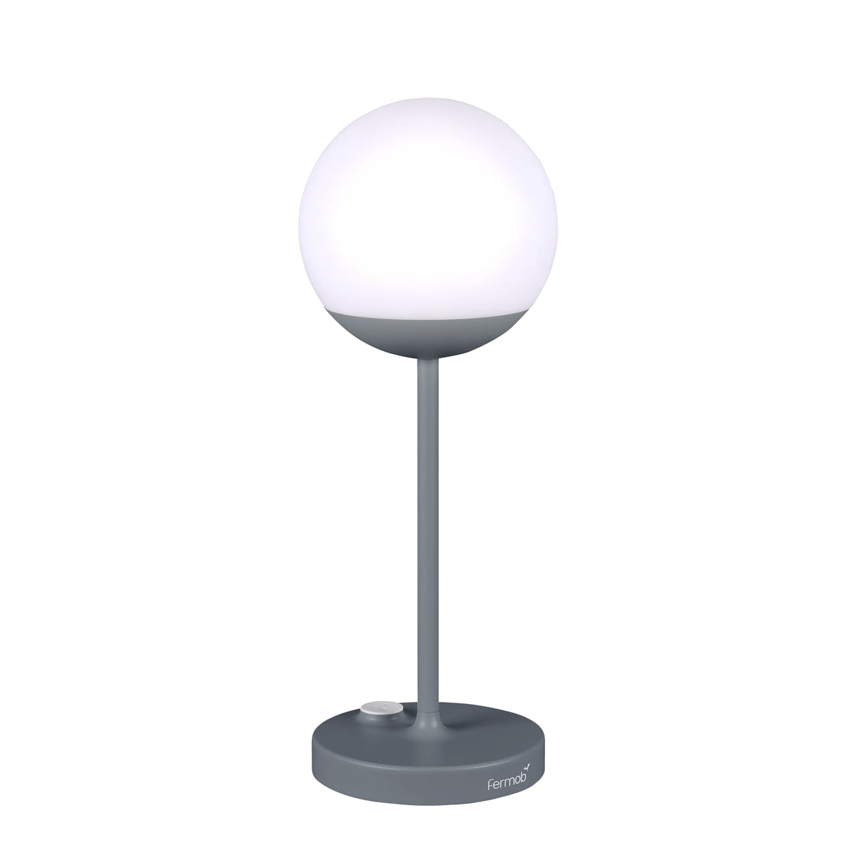 Fermob - Mooon! Akku LED-Leuchte, H 9 cm, capucine