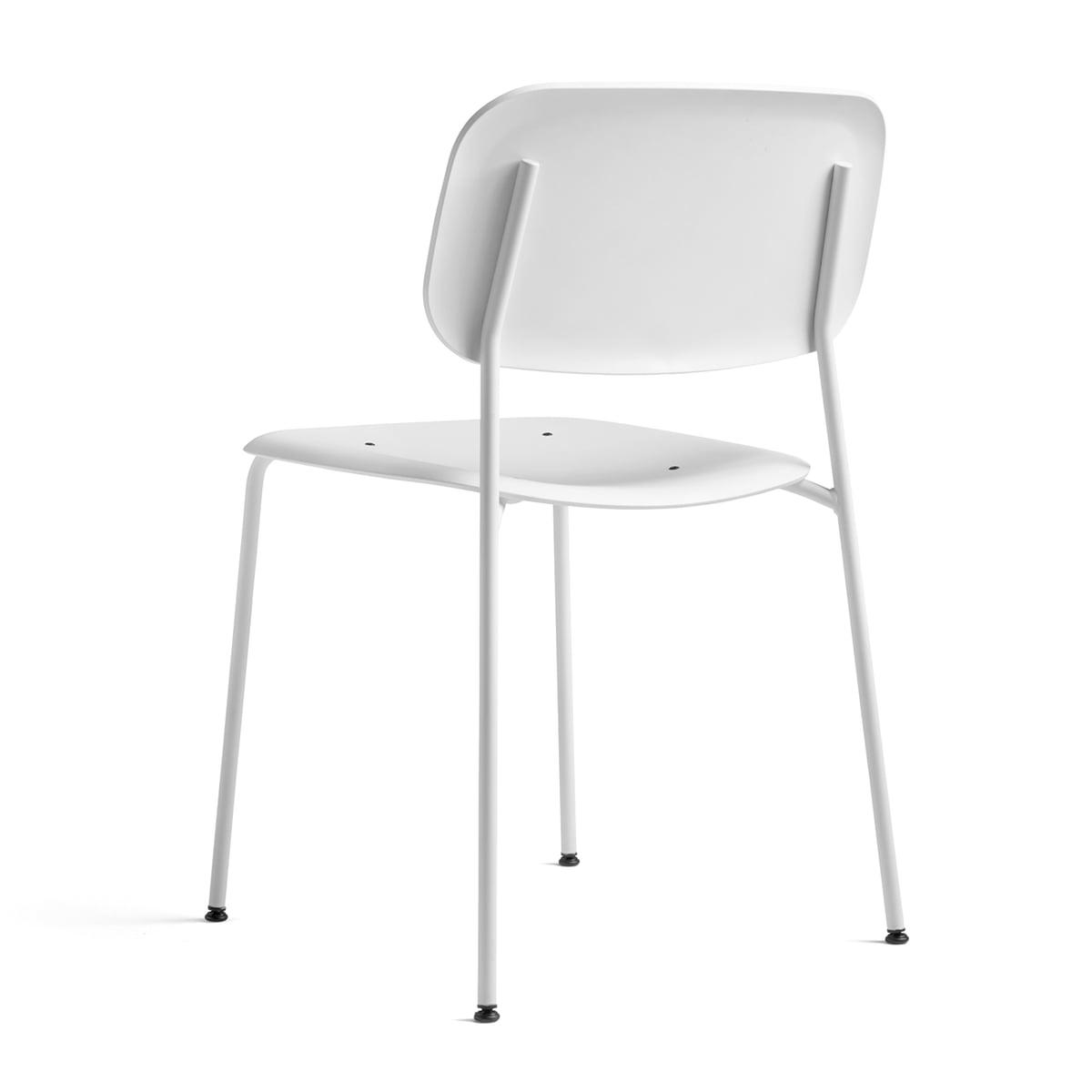 Elegant Hay   Soft Edge P10 Stuhl, Weiß