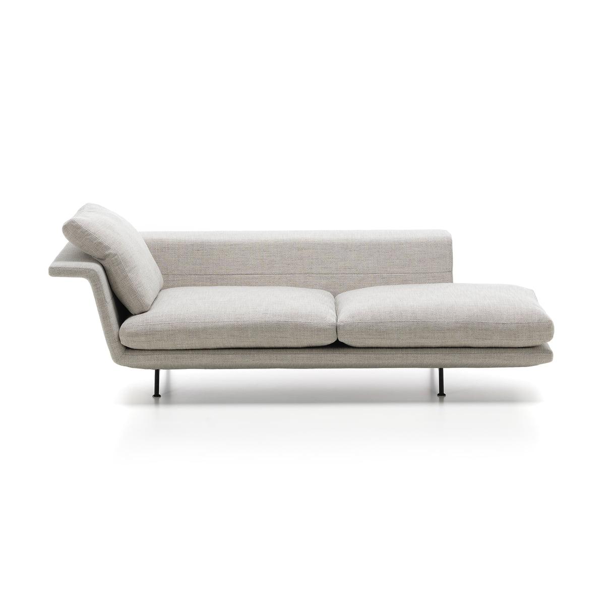 Schon Grand Sofa Von Vitra Als Chaiselongue Ohne Heftung In Beige