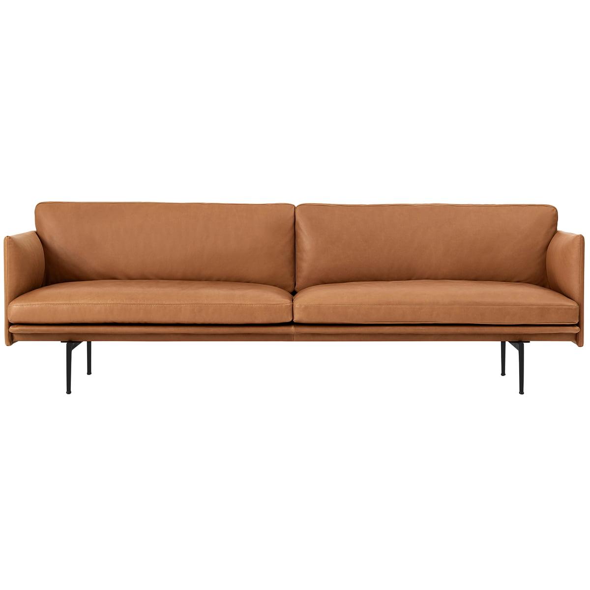 Outline Sofa 3-Sitzer von Muuto | Connox