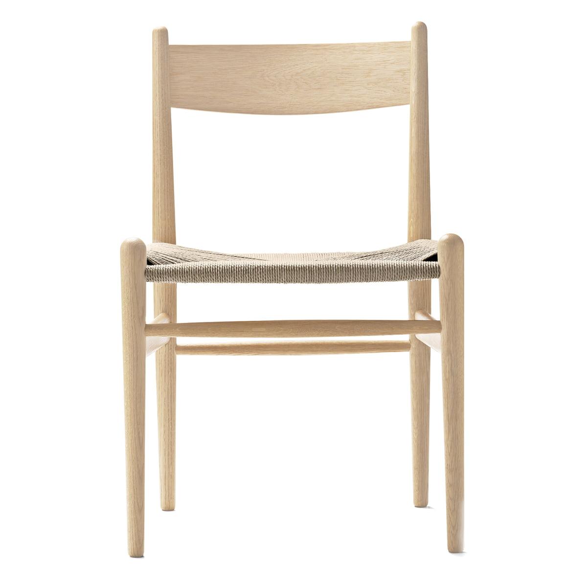 Carl Hansen Ch36 Chair Eiche Geseift Naturgeflecht