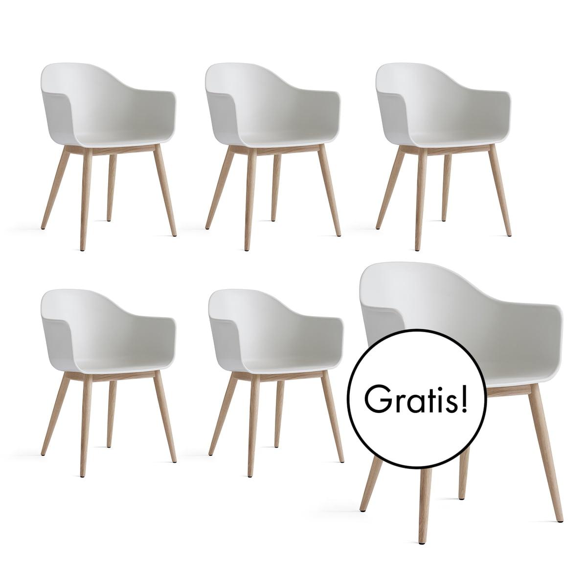 Harbour Chair (Holz) von Menu | Connox