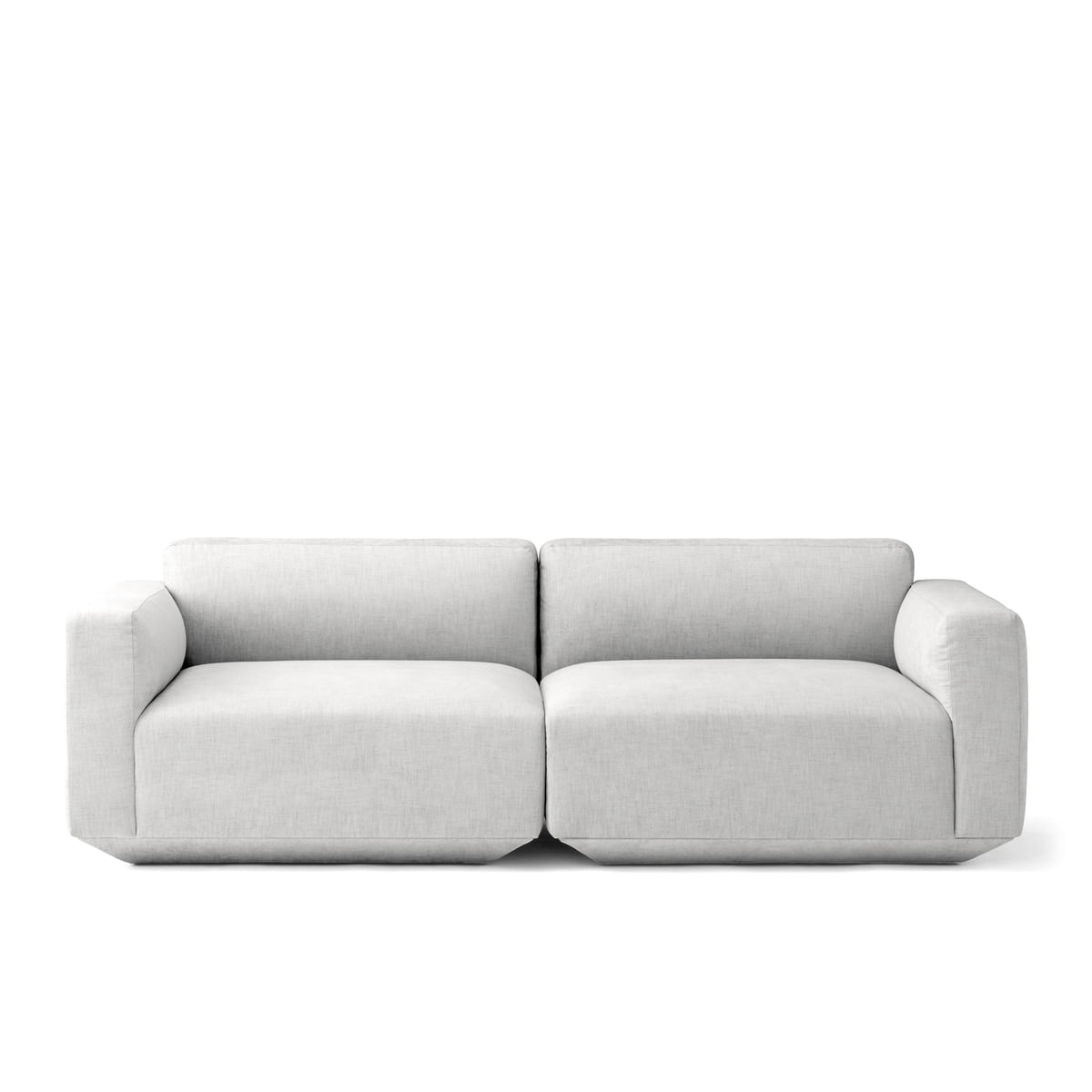 Develius 2 Sitzer Sofa Konfiguration A Von U0026Tradition In Kvadrat Maple 112